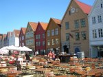 Bryggen - famous part of sightseeing in Bergen