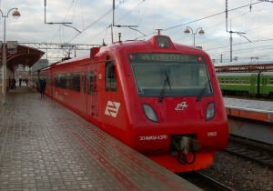 AeroExpress - train from Seremetyevo to city