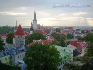 Old Town Roofs, Tallinn