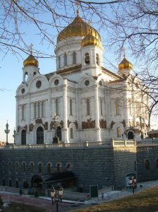 Moscow. The dathedral of the Christ the Saviuor