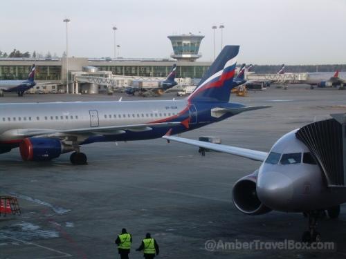 Moscow. Sheremetyevo Airport.