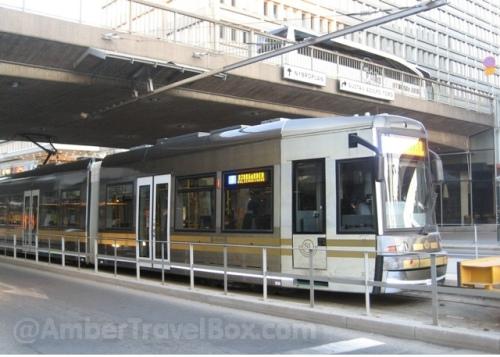 Stokholm's Tram N7