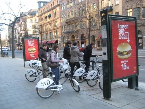 Stockholm City Bikes