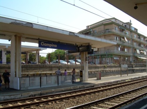 Ciampino train station - takes just 15 min to get to the Rome
