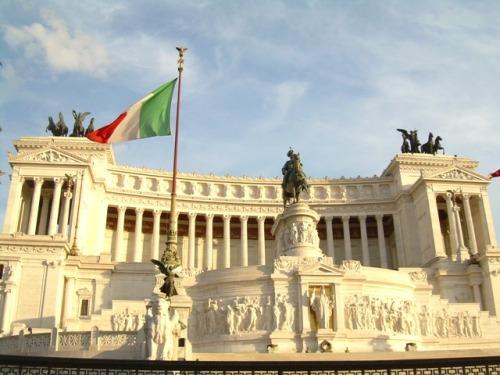 Vittoriano monument complex, Roma, Italy