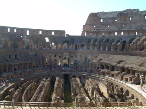 Coliseum - world famous attraction of Rome